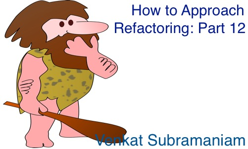Approach refactoring 12