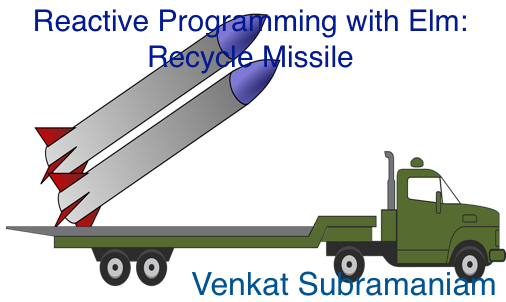 Reactive elm recycle missle